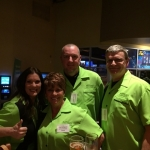 680 The Fan bowling at Stars and Srikes!