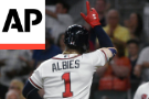 Albies slam, Freeman HR lift Braves over Mets 8-2