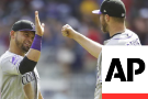 Marquez, LeMahieu help Rockies complete sweep of Braves