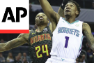 Walker scores 29, leads Hornets to 113-102 win over Hawks