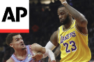 Trae Young leads Hawks past LeBron James, Lakers 117-113