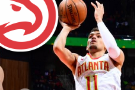 Young has 23 points as Hawks stop streaking Jazz 117-114