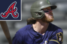 Gamel's 10th-inning homer lifts Brewers over Braves, 3-2