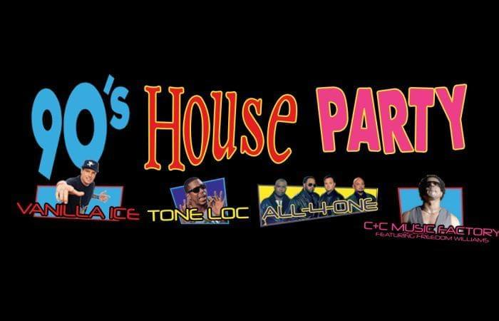 Win Tickets To The 90's House Party