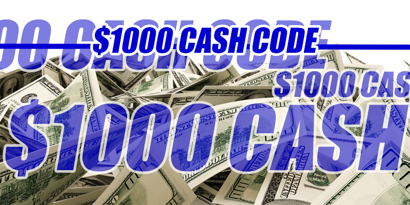 You Could Win $1000