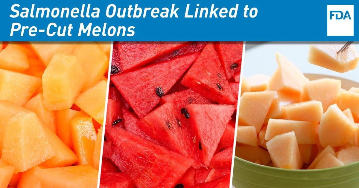 CALIFORNIA AMONG LATEST STATES WARNED NOT TO EAT CUT MELON
