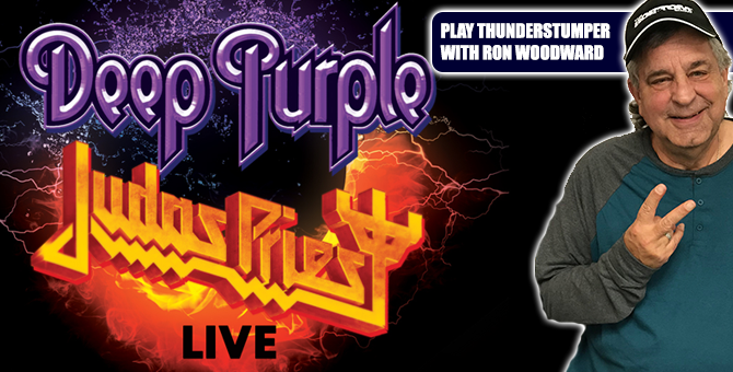 Win Deep Purple/Judas Priest