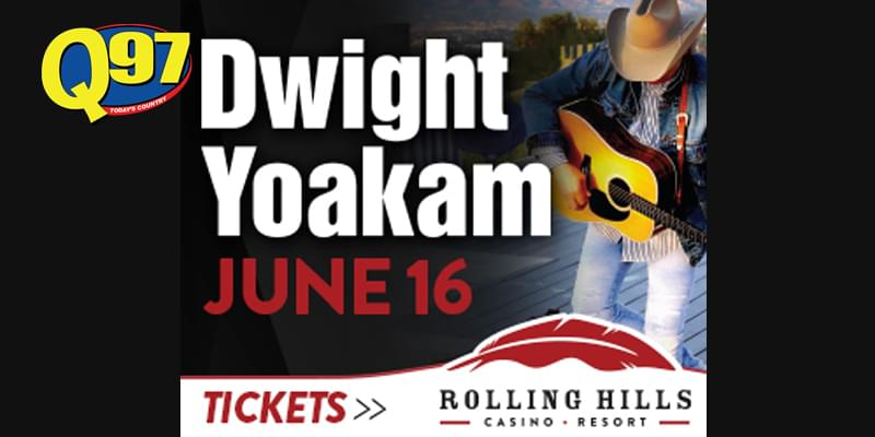 WIN DWIGHT YOAKAM FROM Q97!
