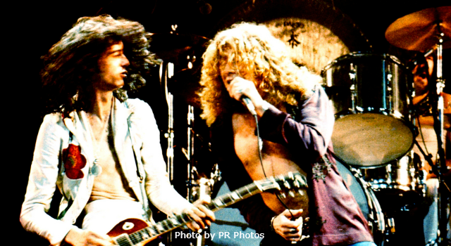 Today in K-HITS Music: Led Zeppelin at #1