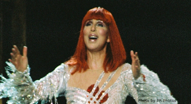 Today in K-HITS Music: Cher at #1