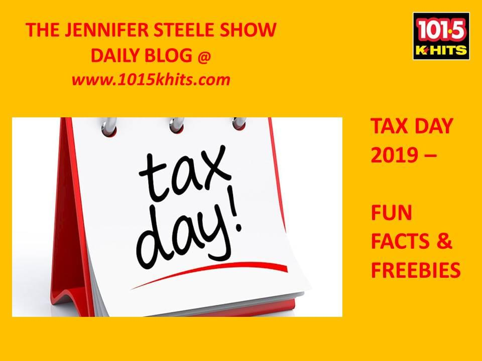 The Jennifer Steele Show * 4/15/19