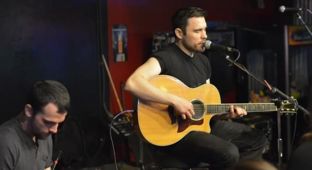 Trapt Acoustic Nights at the Tacklebox in Chico 3-5-18