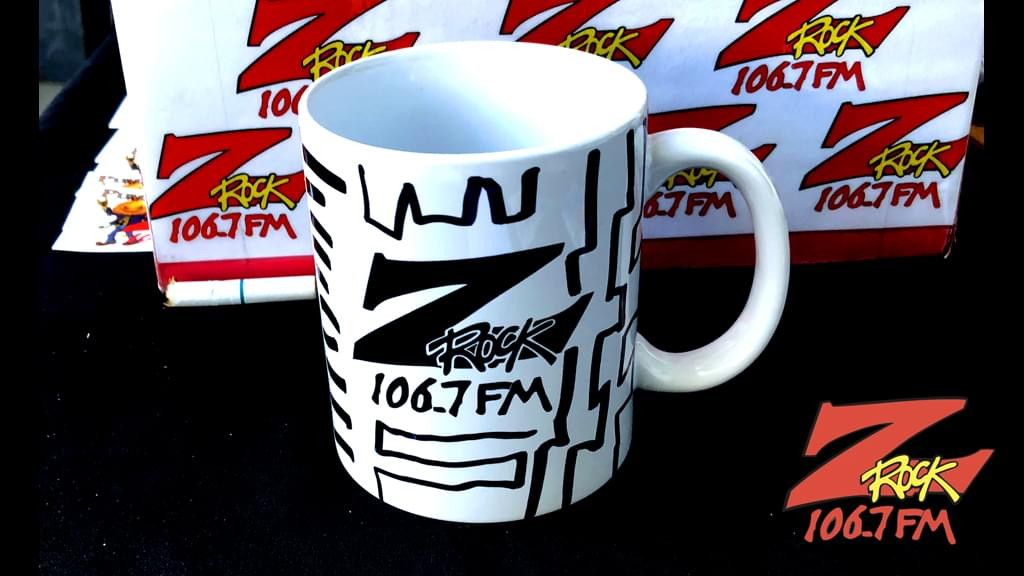 Tim Buc Moore's live morning show tour of Butte County, Wake the Buc Up Doodle Mug at Tender Loving Coffee in Chico October 18th 2018