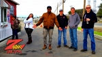 Wake the Buc Up at Coffee Addiction in Red Bluff CA on 106.7 Z-Rock
