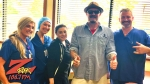 Tim Buc Moore with winner at Skyway Surgery Center in Chico for the Z-Rock Munch Box
