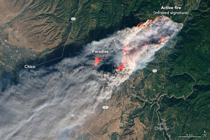 BILL TO HELP CAMP FIRE VICTIMS ADVANCES