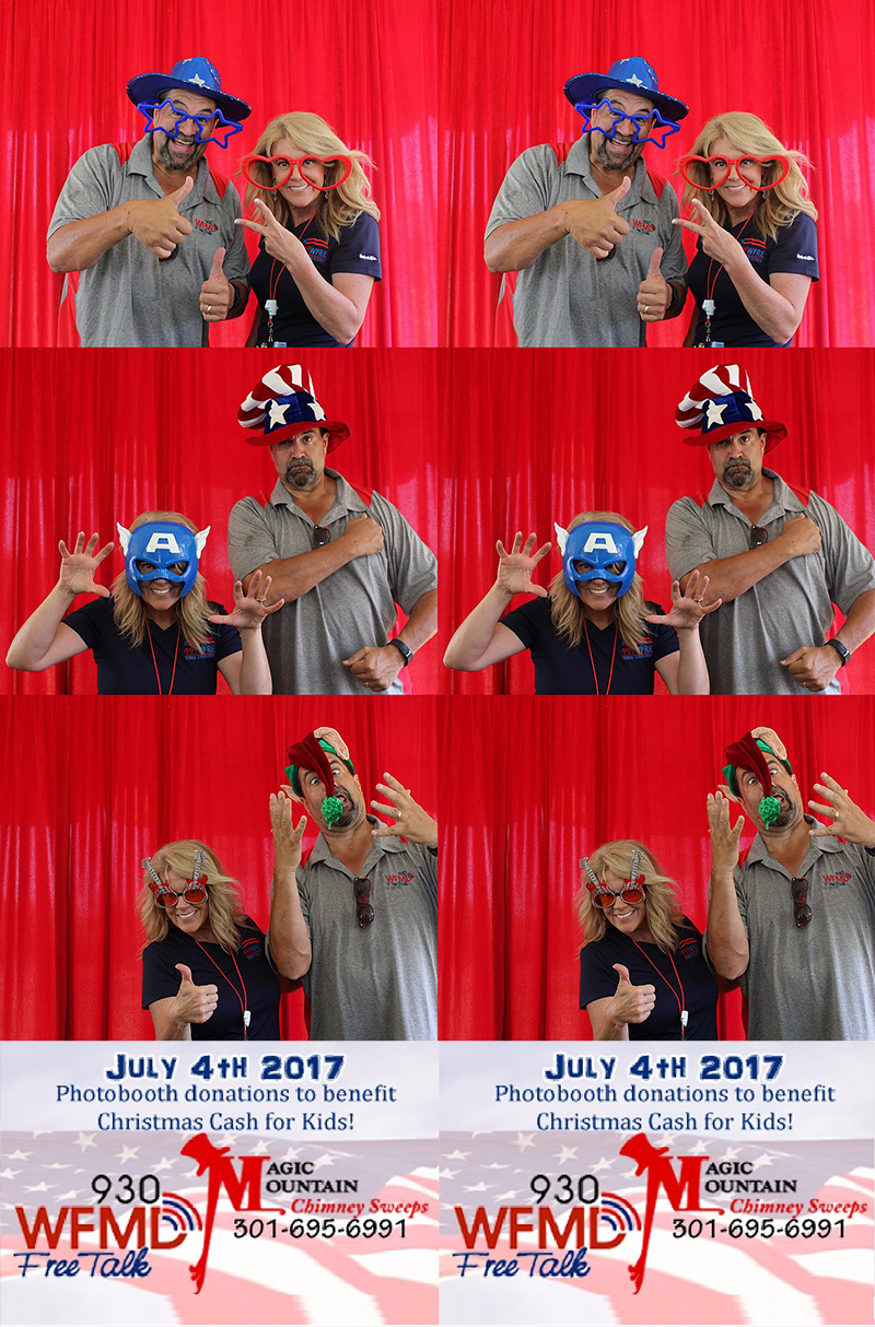 Magic Mountain Chimney Sweeps Photo Booth Gallery Wfmd Am