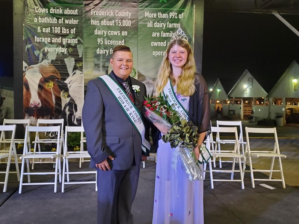 4-H King and Queen Crowned at Opening Night of the Great Frederick Fair