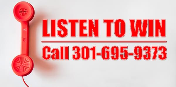 """This is a """"listen to win"""" style contest. You will only need to call at the correct time to play along."""
