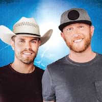 Cole Swindell and Dustin Lynch in Concert