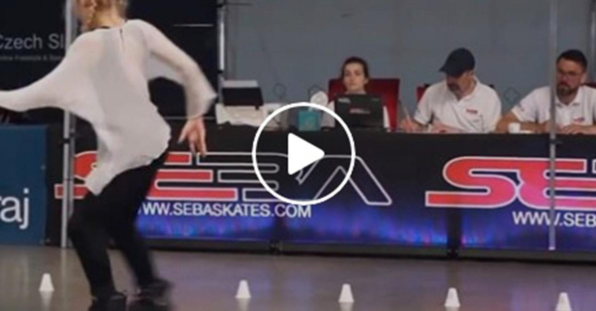 Watch: Girl is Roller Skating Pro!