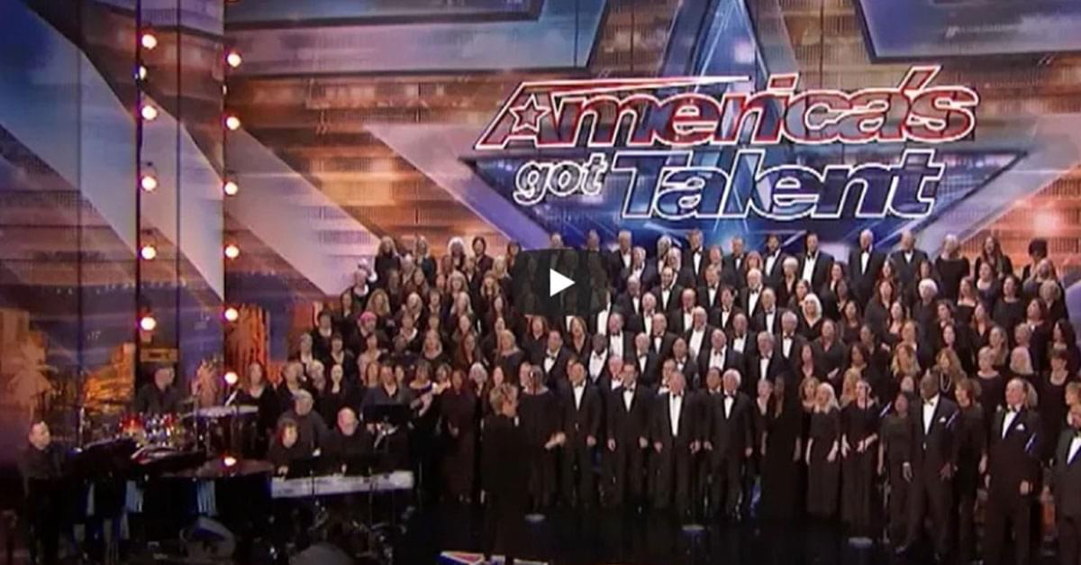 """Watch: Choir Makes it Rain with Toto's """"Africa"""" on America's Got Talent"""