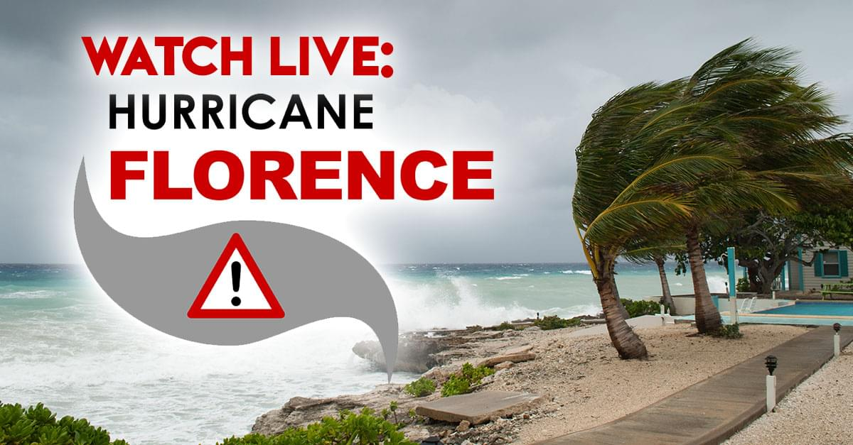 Watch Live Hurricane Florence Wplw Fm