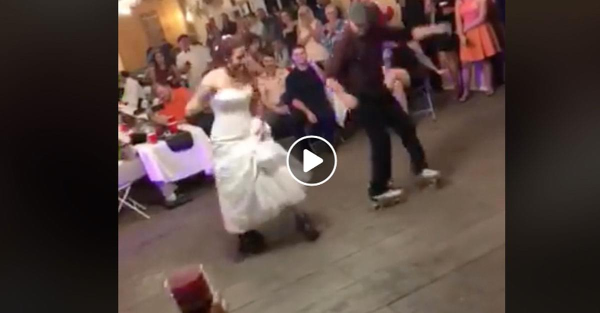 Watch: Father and Daughter Roller Skates Dance