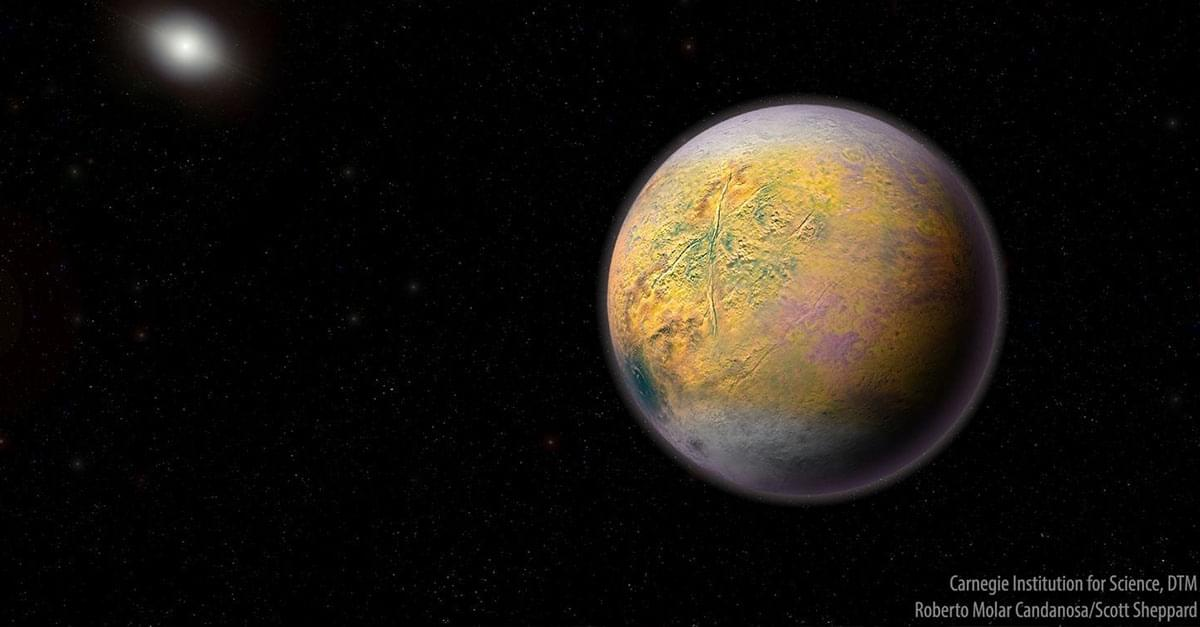 New Dwarf Planet Spotted