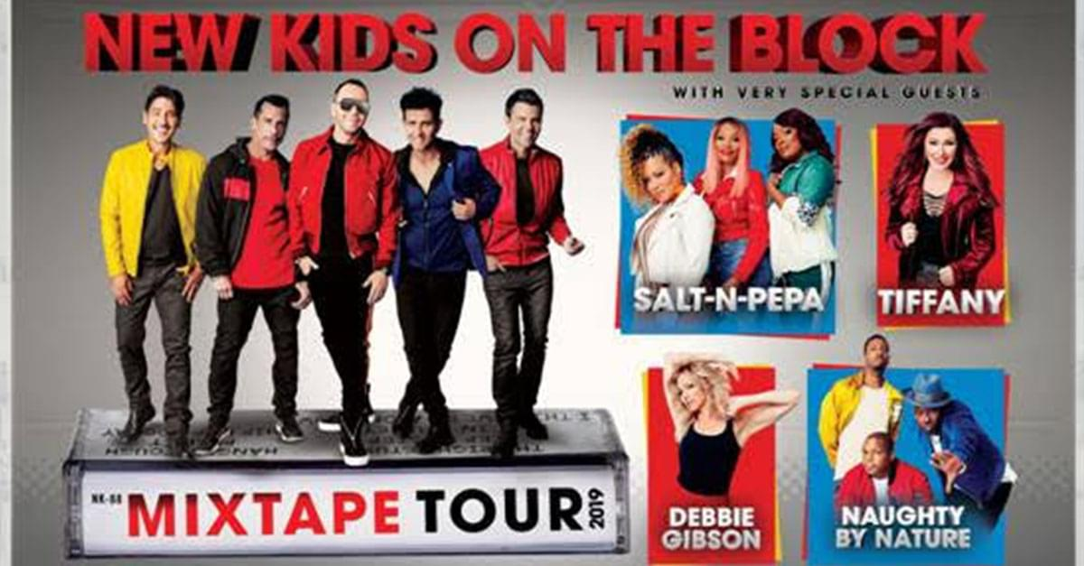 NKOTB announce The MixTape Tour coming to Raleigh!