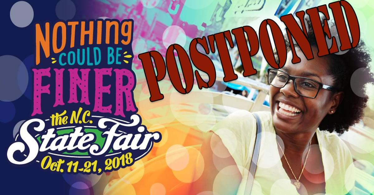 Opening of NC State Fair Delayed