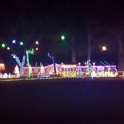 Best Christmas Lights In The Triangle Wplw Fm