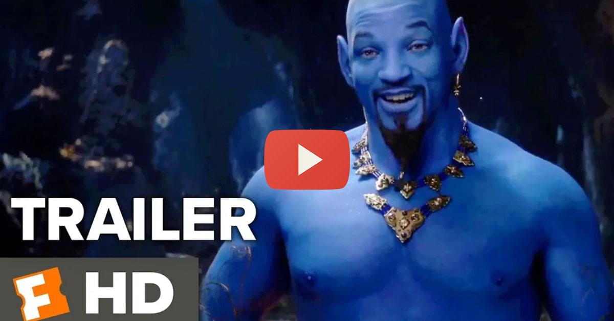 Watch: New 'Aladdin' Trailer Released