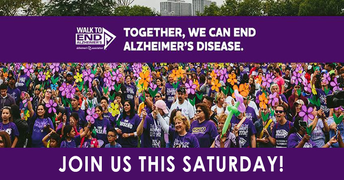 Join us for the 2018 Walk to End Alzheimer's!