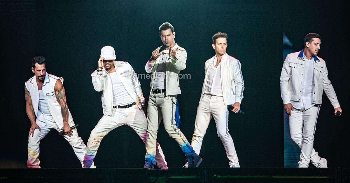 Pics: New Kids on the Block in Raleigh