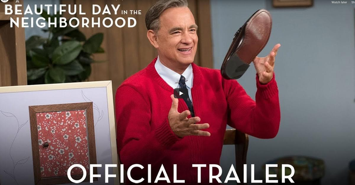 Watch: Tom Hanks is Mister Rogers in New Film
