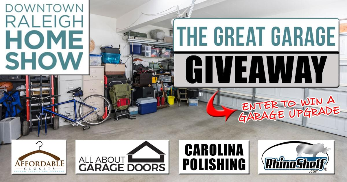 The Great Garage Giveaway powered by the Downtown Raleigh