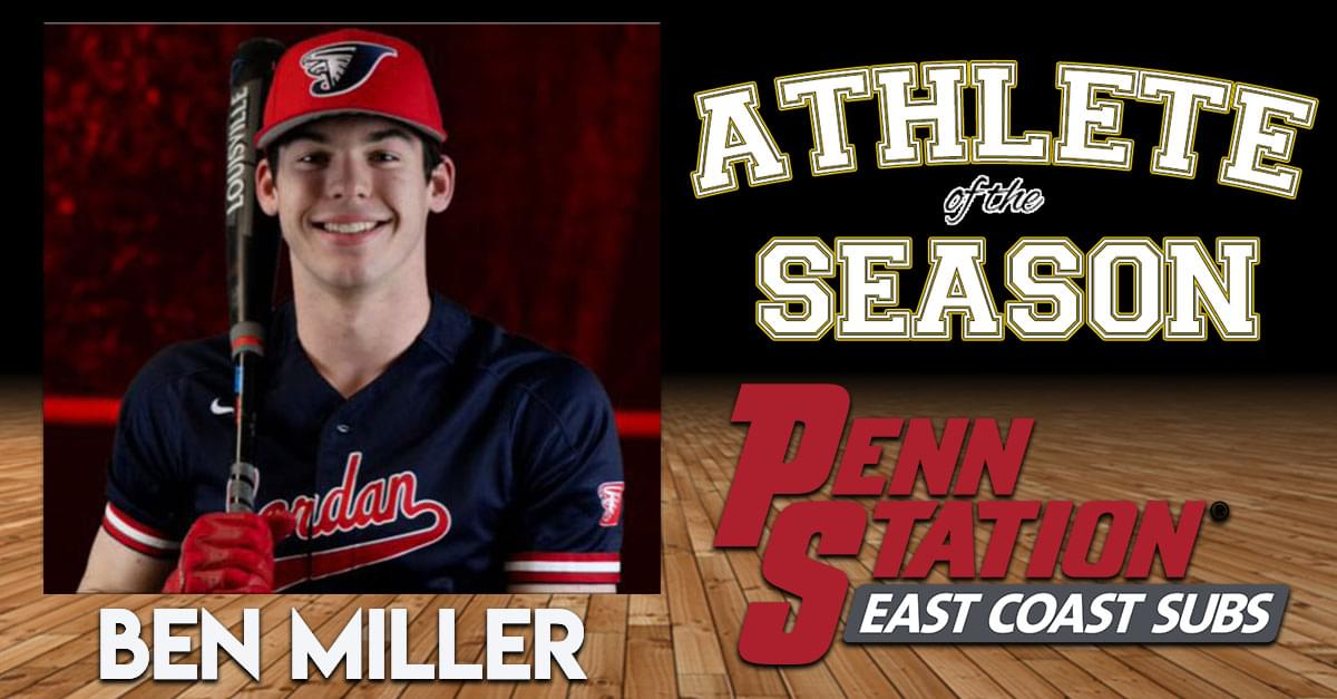 Penn Station East Coast Subs Athlete of the Season: Ben Miller