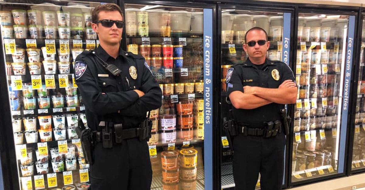 Stores are 'Protecting' Their Ice Cream from Lickers