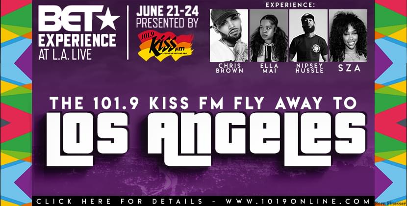Fly Away to L.A. for the BET Awards