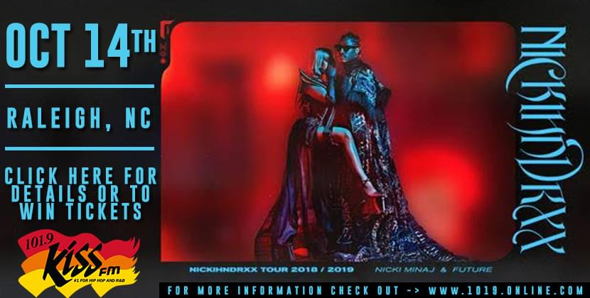 101.9 Kiss FM Giving YOU Nicki Minaj And Future Tickets HERE!