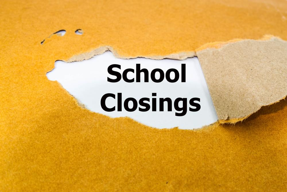 Several Schools to Close and be on A Delay Tomorrow Due to Approach of Hurricane Michael