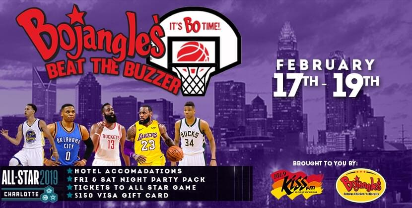Bojangles Beat The Buzzer For NBA All-Star Game…