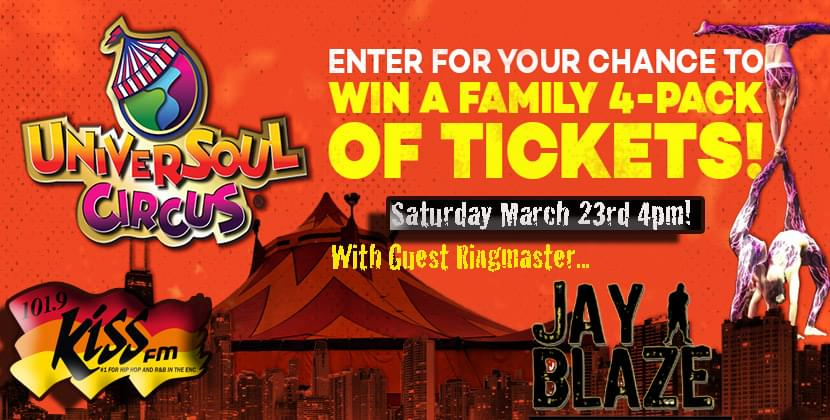 Universoul Circus March 20th-March 31st…