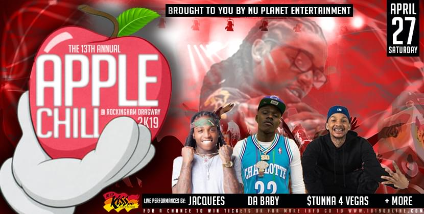 13th Annual Apple Chill Fee Da Baby, Jacquees And More…