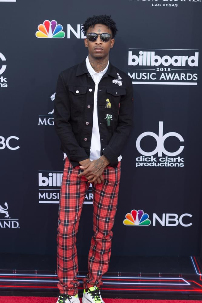 21 Savage Booked of Felony Theft