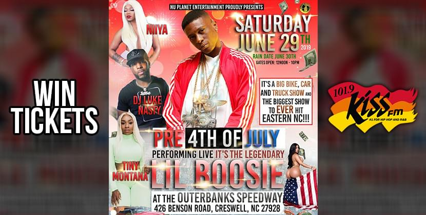 Win Tickets To The Pre 4th of July Event w/ Lil Boosie