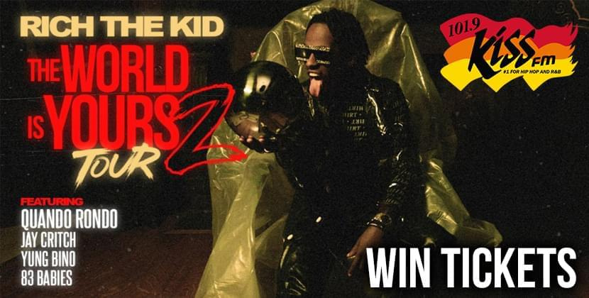 Win Tickets To See Rich The Kid At The Ritz