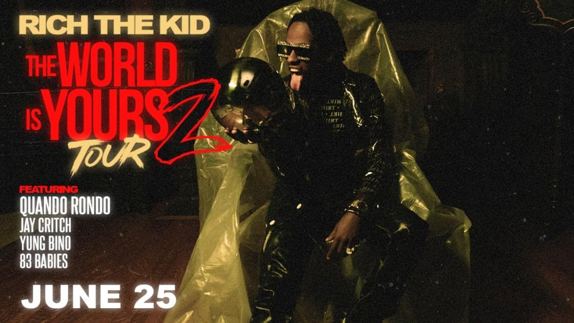 Rich the Kid the World is Your 2 Tour The Ritz Raleigh