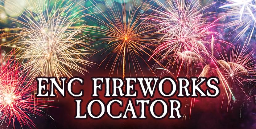 Fireworks & Fourth Of July Celebrations In ENC